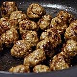 Cooked: Minimeatballs