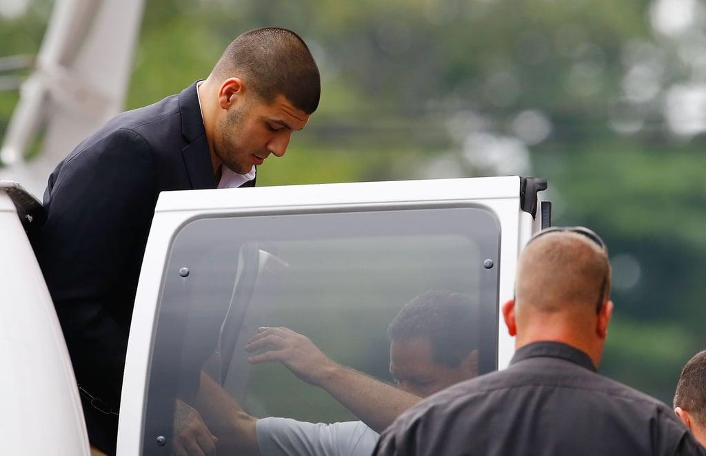 When Was Aaron Hernandez Arrested?