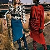 Style a Blouse With an Asymmetrical Skirt