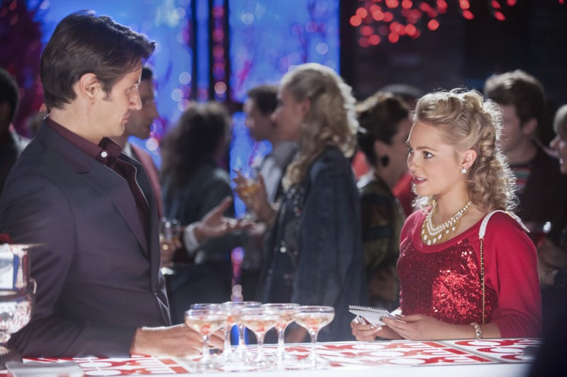 "The Carrie Diaries Carter (Chris Bowers) and Carrie (AnnaSophia Robb) on The Carrie Diaries' holiday episode ""The Second Time Around,"" airing on Dec. 20 on The CW."