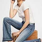 Go full '70s mode in these Driftwood Farrah Embroidered Flare Jeans ($138).