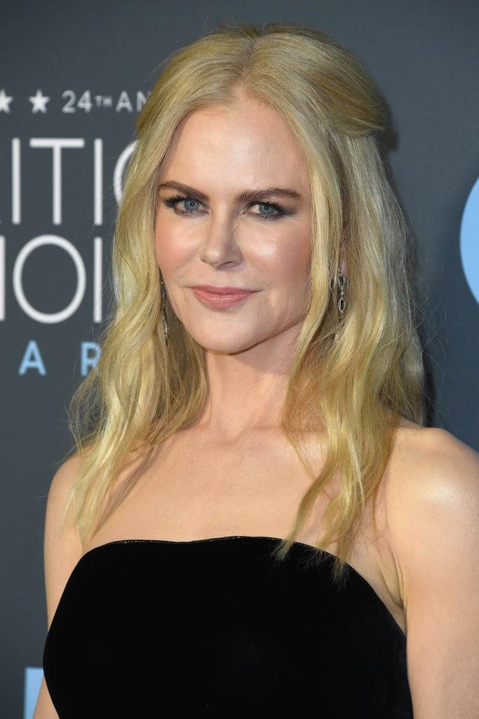 Nicole Kidman Beauty Look at 2019 Critics' Choice Awards ...
