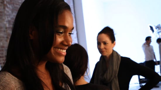 Lancôme Model Arlenis Sosa Shares Her Beauty Tips at Fall 2011 New York Fashion Week 2011-02-16 11:19:00