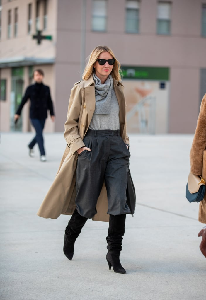 How to Wear Suede: Knee-High Boots