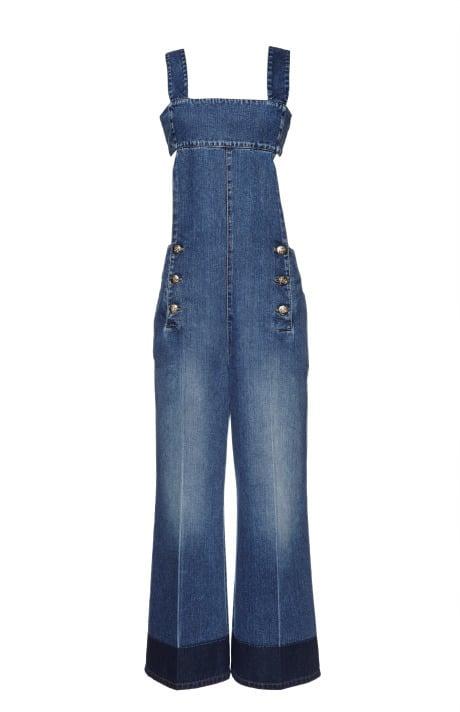 Sonia Rykiel Blue Washed Denim Jumpsuit ($940)