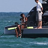 Naomi Campbell Hits Miami in Her Bikini!