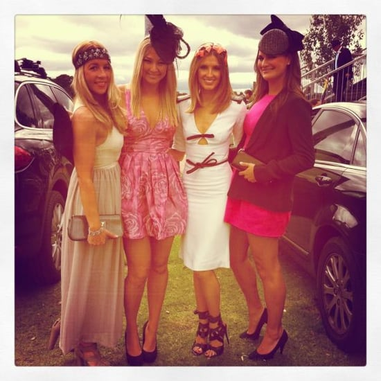 Celebrity Twitter Pictures From the 2011 Melbourne Cup