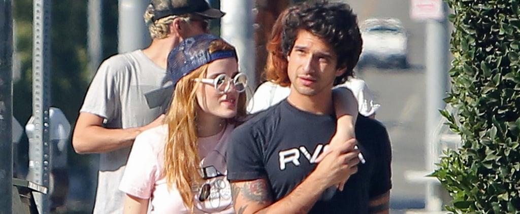 Bella Thorne and Tyler Posey PDA in LA October 2016