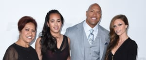 23 Pictures of Dwayne Johnson and His Beautiful, Blended Family