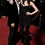 2009: Firass Dirani and Emma Booth