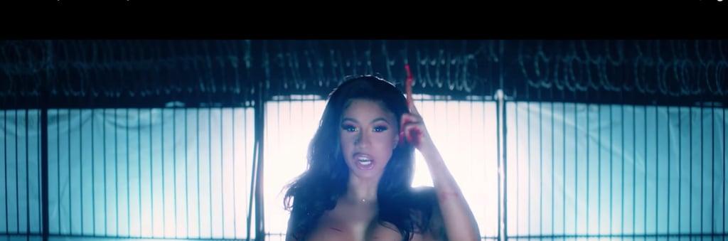 "Cardi B Eyebrows: Cardi B ""Press"" Music Video Beauty Looks"