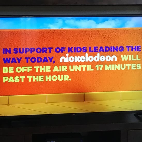 Nickelodeon Stops Broadcasting During School Walkout