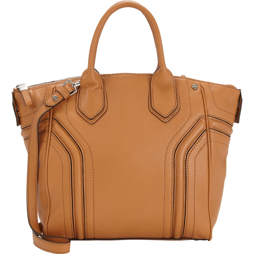 Milly Brown Leather Zooey Tote
