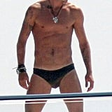 There was little in the way of David Beckham's June 2005 sunbathing on a yacht in the South of France.