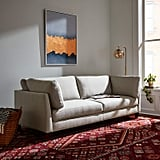 Rivet Midtown Mid-Century Modern Upholstered Sectional Sofa Couch