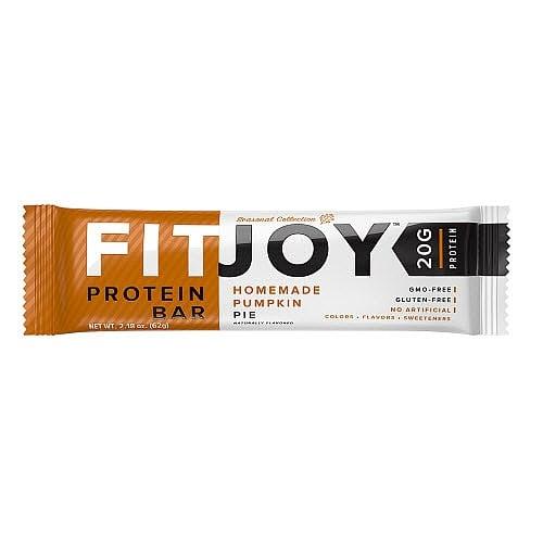 FitJoy Homemade Pumpkin Pie Protein Bar