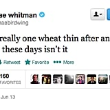We sympathize, Mae Whitman. We sympathize.