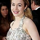 Sarah Goldberg at the Olivier Awards in 2011