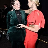 When she had a deep chat with Emily Blunt.