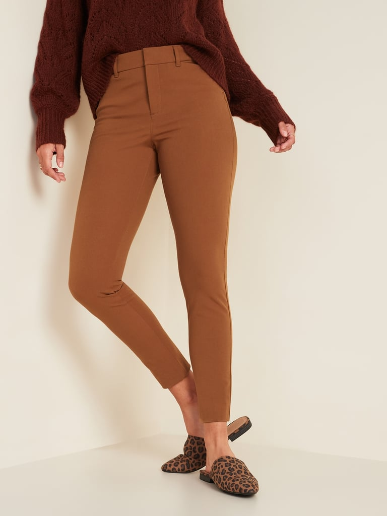 High-Waisted Pixie Ankle Pants