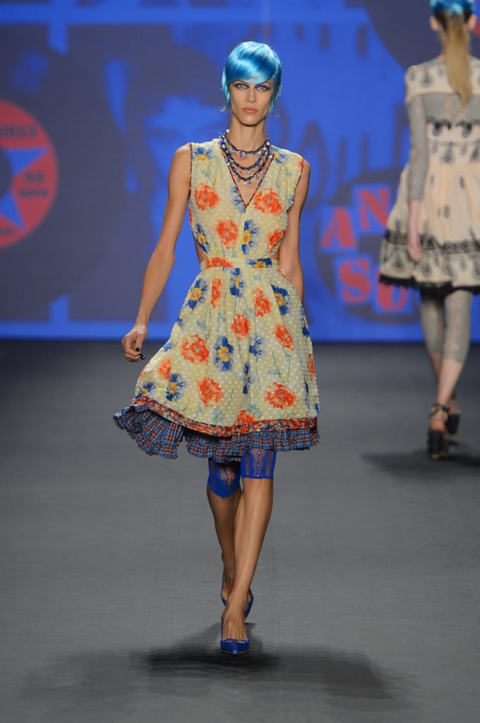Pictures and Review of Anna Sui Spring Summer New York ...
