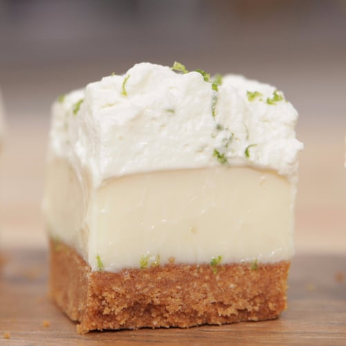 Key Lime Pie With Cinnamon Toast Crunch Crust