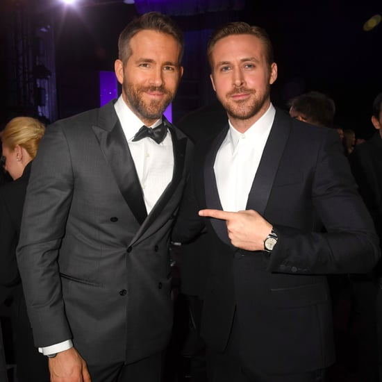 Ryan Gosling Ryan Reynolds at 2017 Critics' Choice Awards
