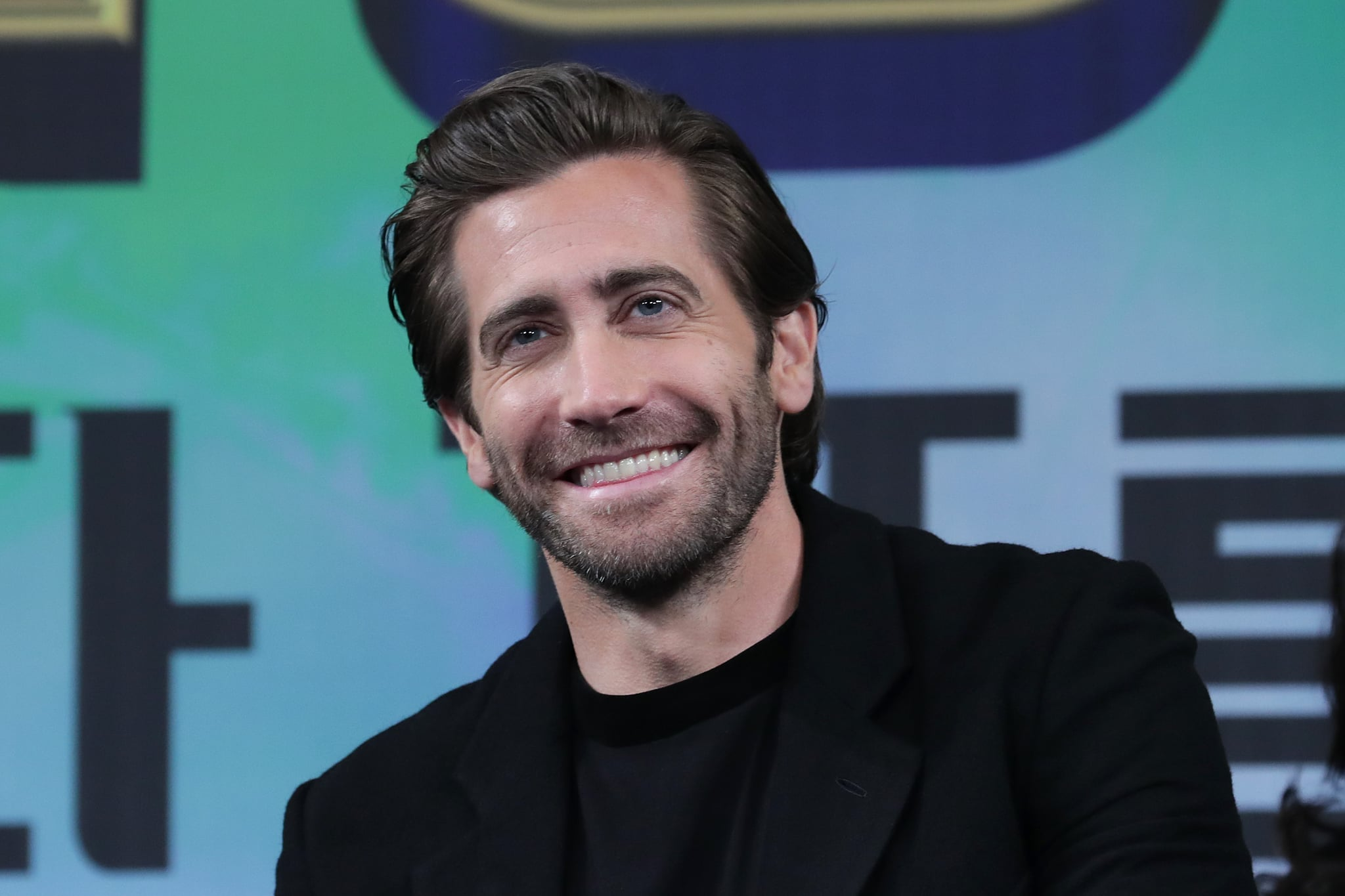 SEOUL, SOUTH KOREA - JULY 01: Actor Jake Gyllenhaal attends the press conference for 'Spider-Man: Far From Home' Seoul premiere on July 01, 2019 in Seoul, South Korea. (Photo by Han Myung-Gu/WireImage)