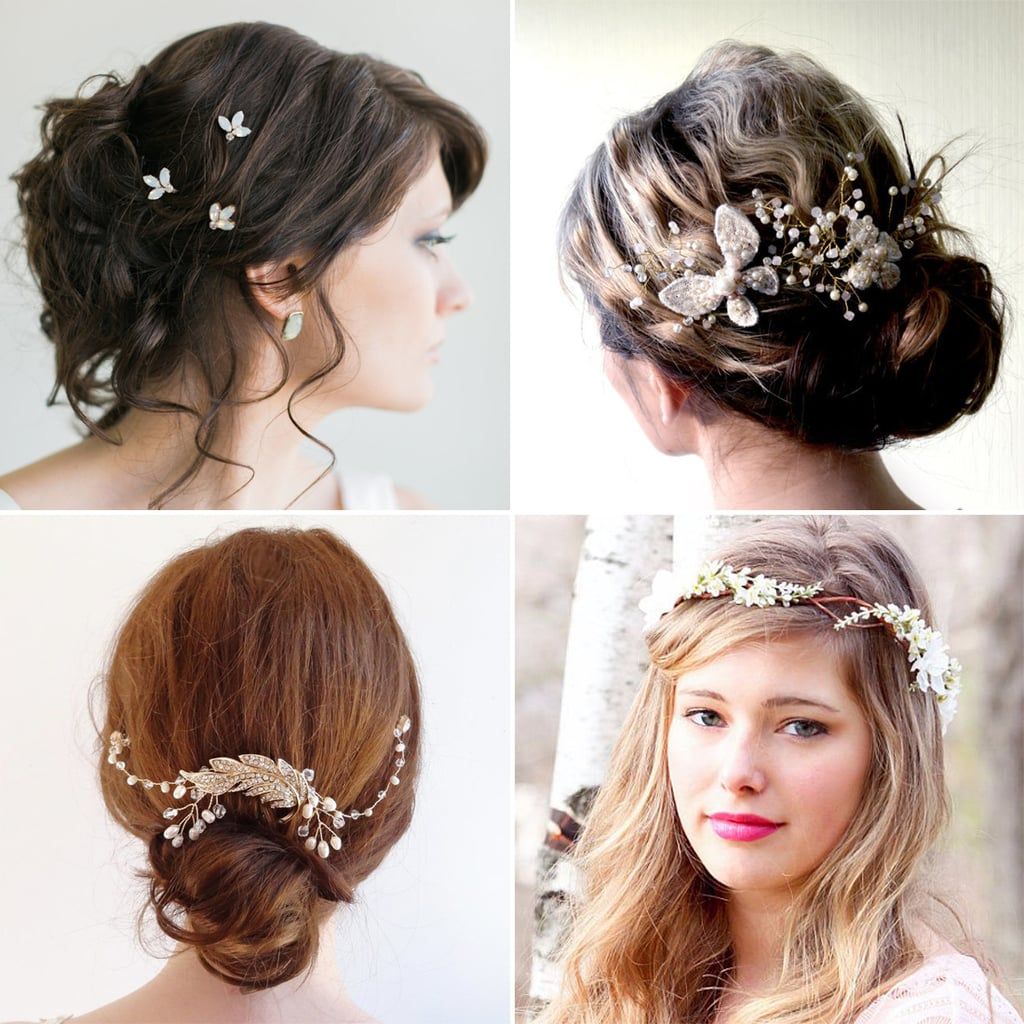 Turning heads at your wedding is easy with stunning hair and an even more incredible headpiece. The difficult part