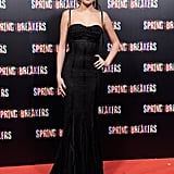 Selena Gomez worked her stuff at the premiere in Madrid.