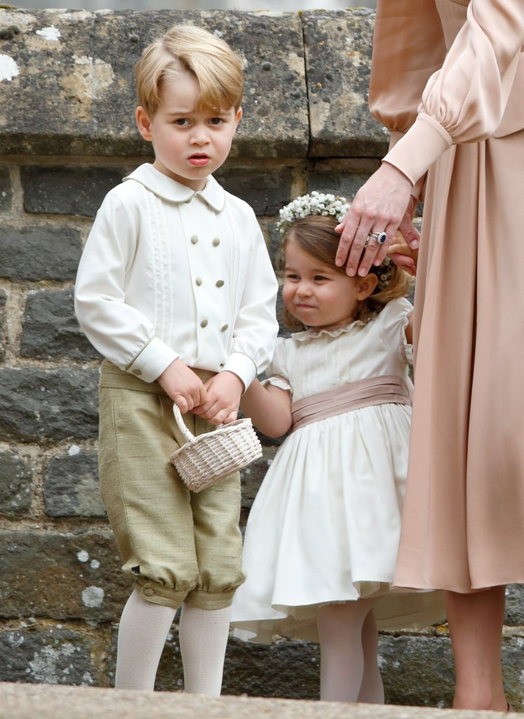 Prince George and Princess Charlotte's Outfits at Meghan's Wedding