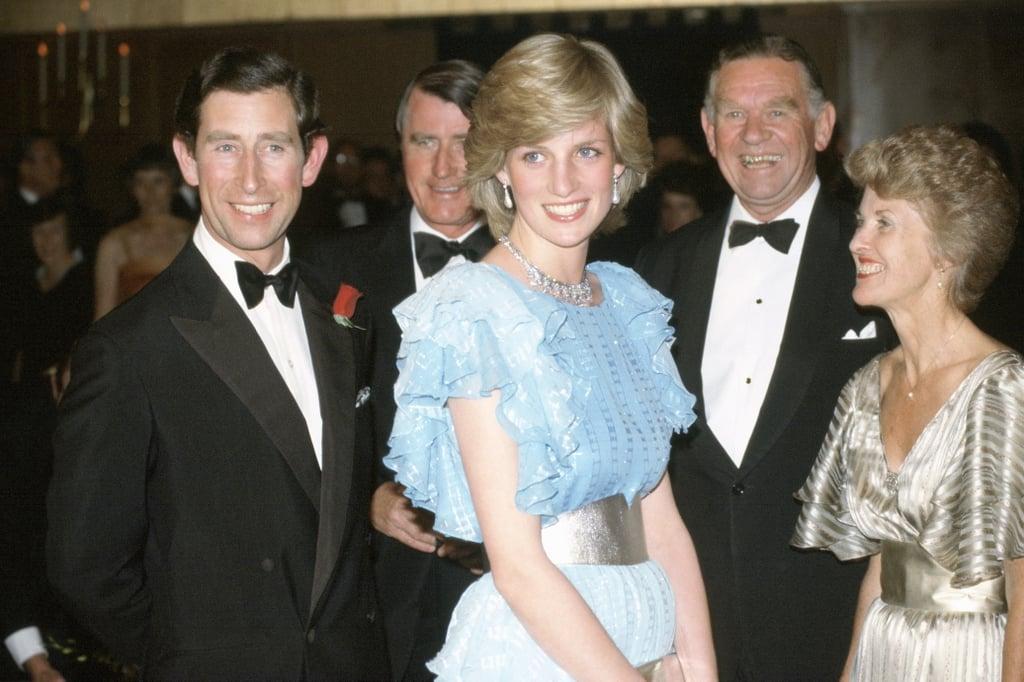 Princess Diana's Blue Gown