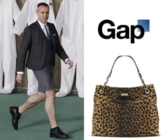 Thom Brown Launches Womenswear in London, Gap Need Logo Help