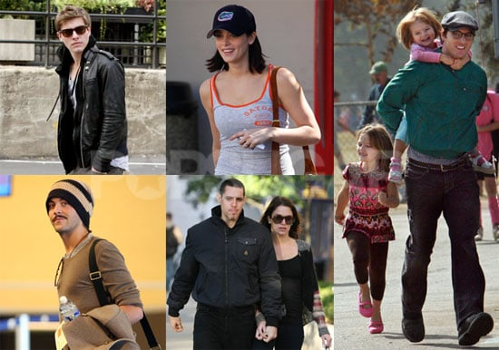 Photos of Twilight's Peter Facinelli, Paris Latsis, Jack Huston, Nikki Reed, Ashley Greene, Xavier Samuel Out Over the Weekend