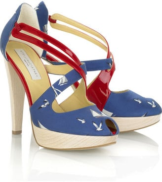Nautical Heels, Sailor Chic Shoes, Stella McCartney, New Look