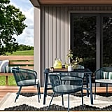 Fisher 4-Pack Patio Dining Chair Set