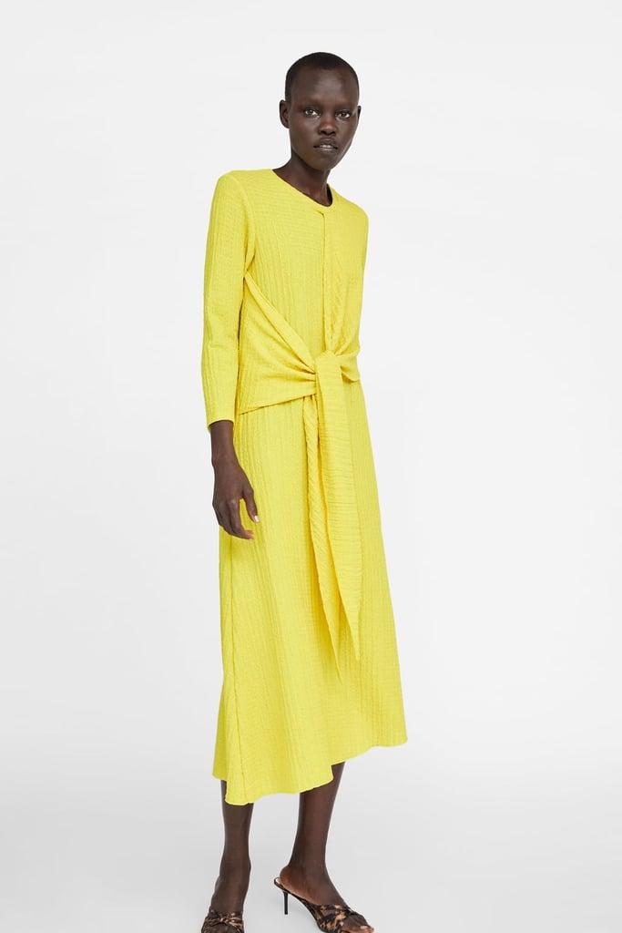e81ac3bdb3a Zara Knotted Rustic Dress