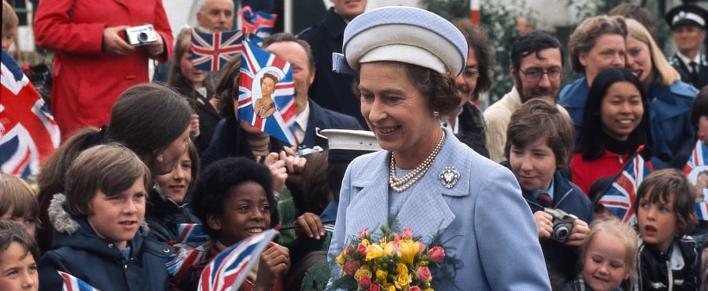 Pictures of Queen Elizabeth II's Silver Jubilee