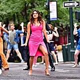 Priyanka Chopra's Pink Dress in Isn't It Romantic Movie