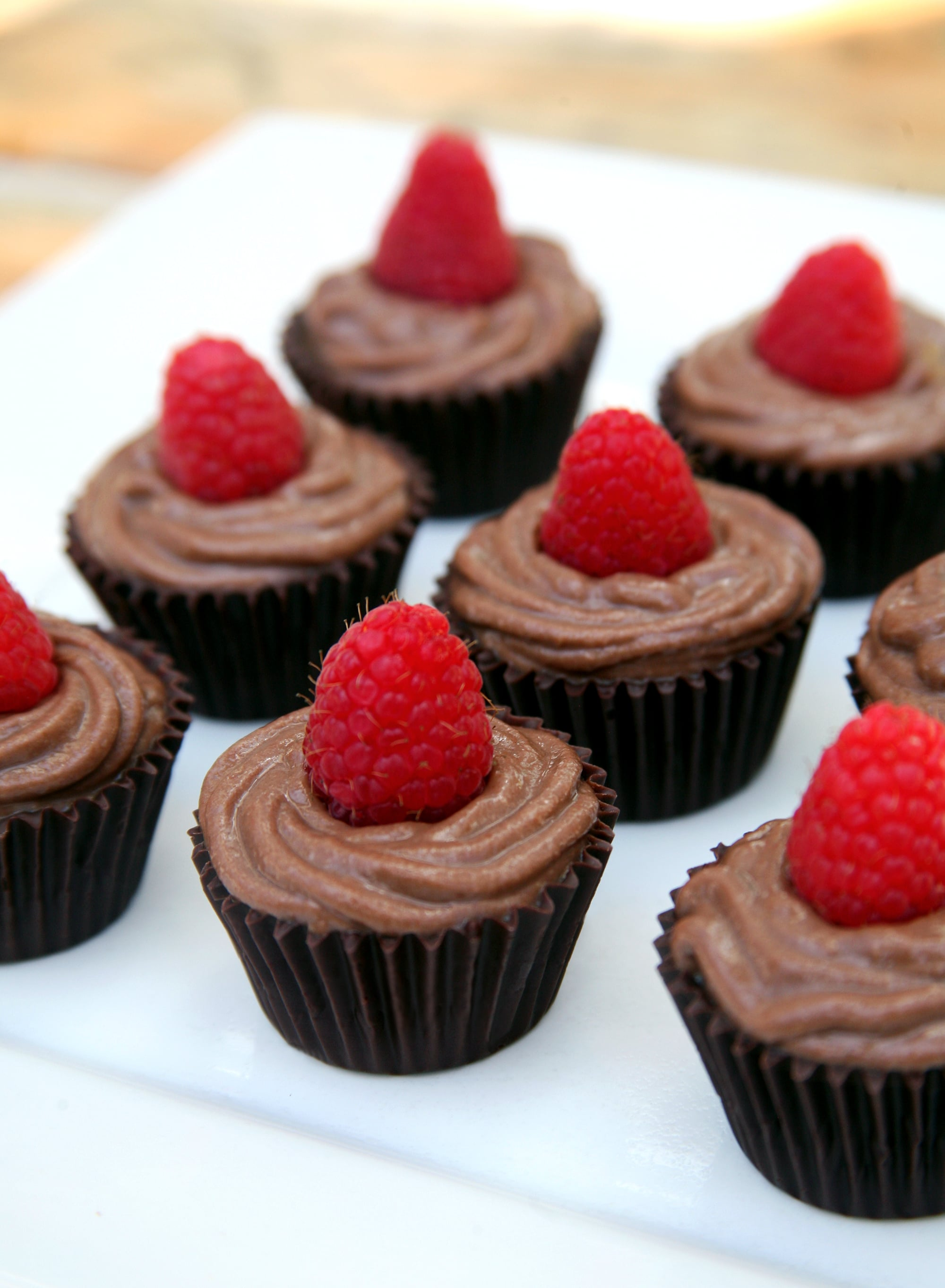 Vegan Chocolate Mousse in Chocolate Cups | POPSUGAR Fitness