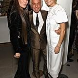 Pictured: Elizabeth Saltzman, Giancarlo Giammetti, and Gwyneth Paltrow