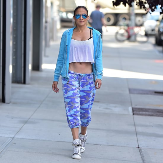 Jennifer Lopez's Best Workout Outfits