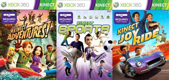 Kinect Games Get a Price