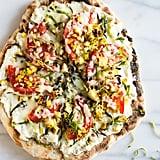 Grilled Summer Veggie Pizza