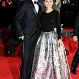 Natalie Portman met up with Tom Hiddleston on the red carpet.