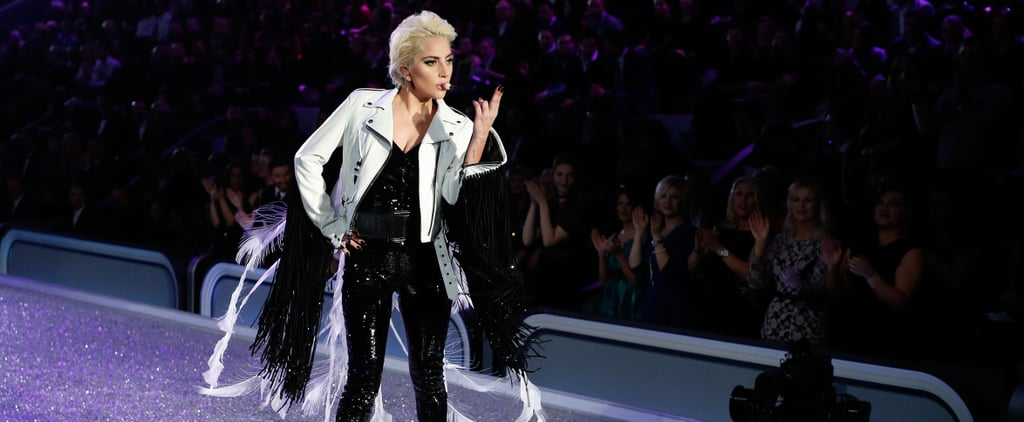 Lady Gaga's VS Jacket Looked Normal at First, but It Was Far From It