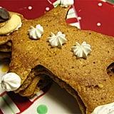 Ginger and Pumpkin Gingerbread Man Pancakes