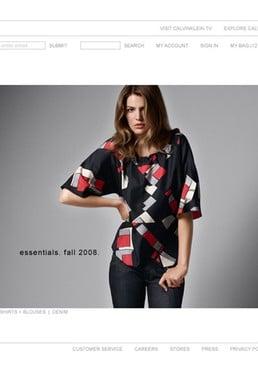Calvin Klein Launches E-Commerce