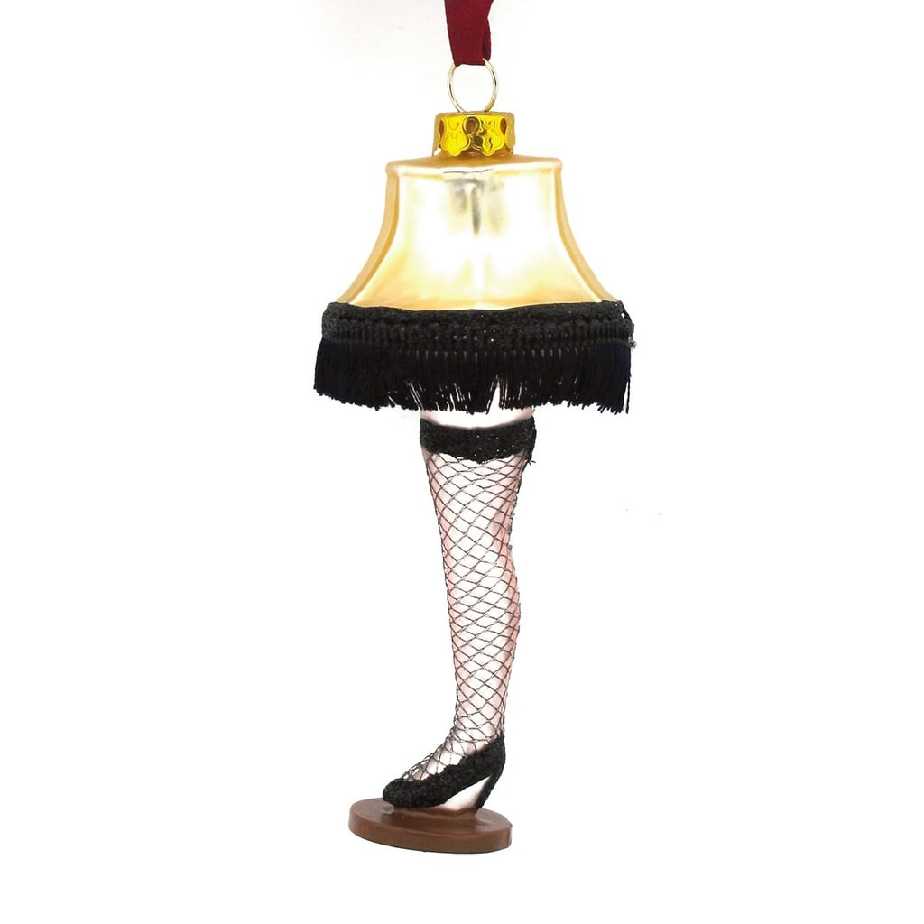 hallmark a christmas story glass leg lamp christmas ornament