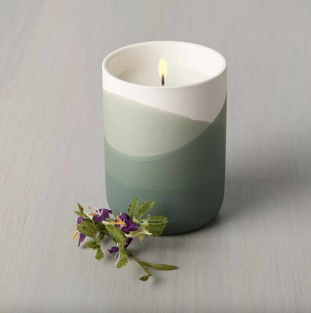 Meadow Dipped Ceramic Candle
